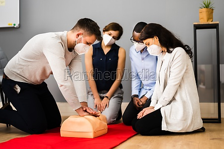 first aid cpr resuscitate training