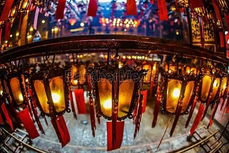 hong kong man mo temple