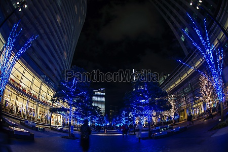 christmas illuminations minato mirai yokohama