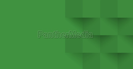 abstract green background web template squares