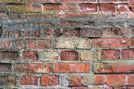 weathered old brick wall background