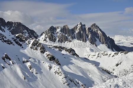 colbricon peak dolomites