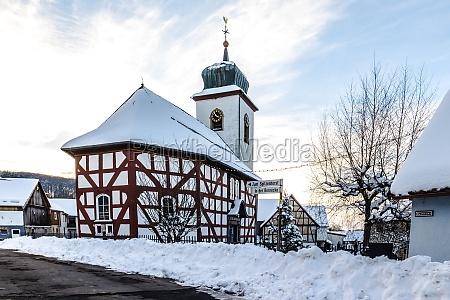 protestant church in schotten breungeshain