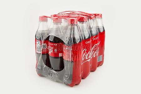 wrapped coca cola