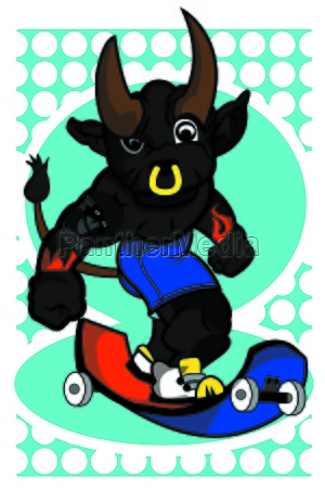 bull skateboard