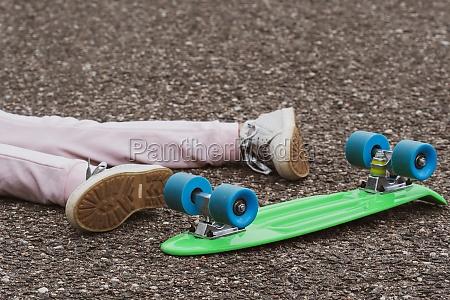accident on skateboard
