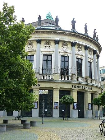 a theatre toneelhuis in antwerp