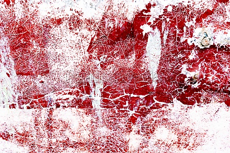 surface covered with splattered paint