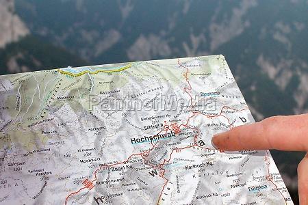 the hochschwab mountain region in austria