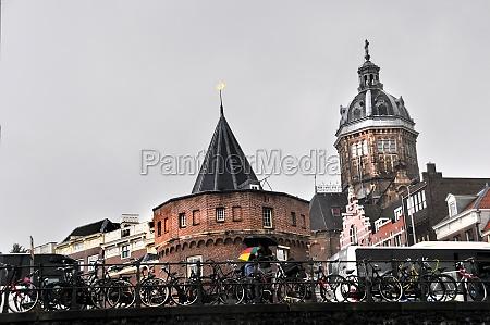 cityscape in amsterdam