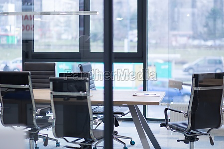 empty modern office