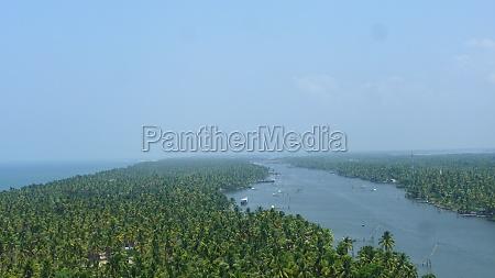 kerala backwaters in southern india