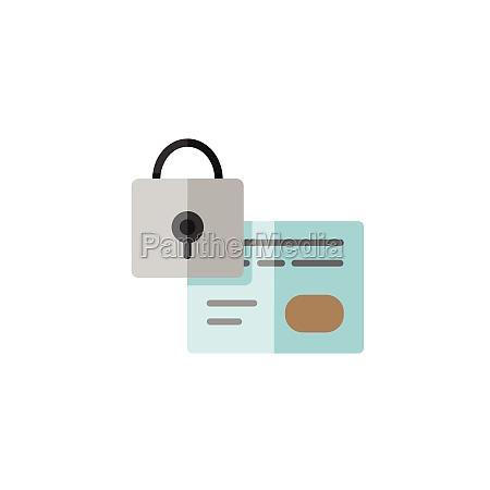secure credit card payment security padlock