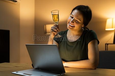 virtual wine tasting dinner event