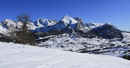 alpstein massif seen from iltois toggenburg