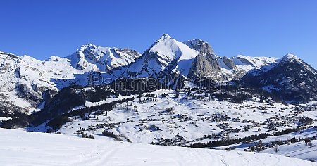 toggenburg valley and alpstein range in