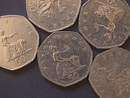 50 pence coin united kingdom