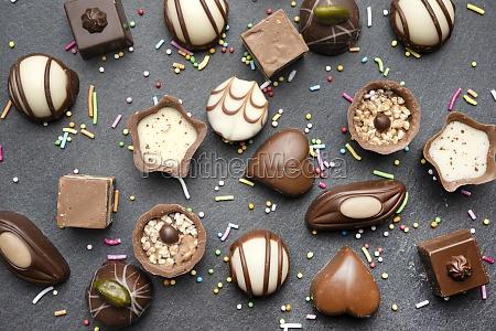 chocolates decorated