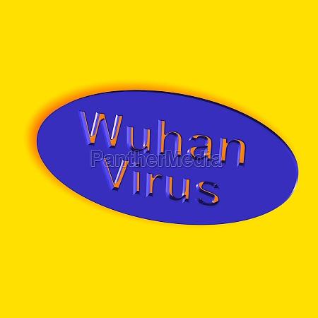 wuhan virus word or text
