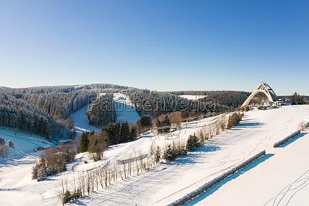 the saint george ski jump and