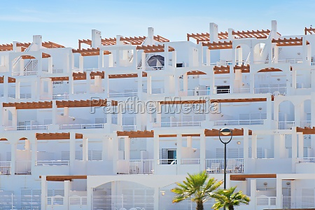 exterior view of apartments in spain
