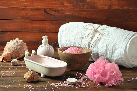 spa and body care products aromatic