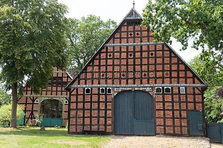 round shaped village in wendland lower