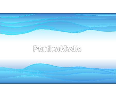abstract blue water waves layered background