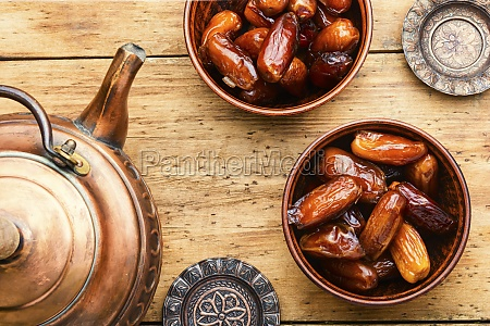 dried date on table