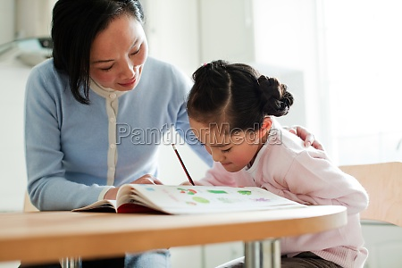 counseling girl learning