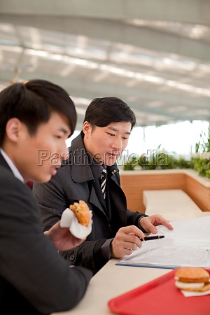 railway station confidence asians eat dining