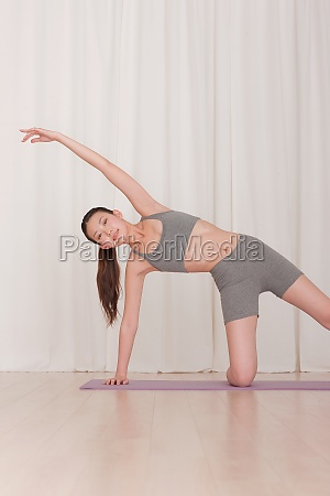 face the camera adult woman vitality