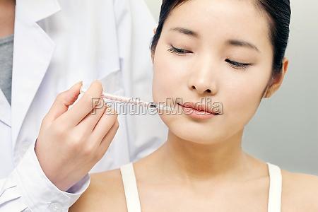 female cosmetic