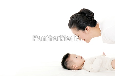 mother tender loving care baby