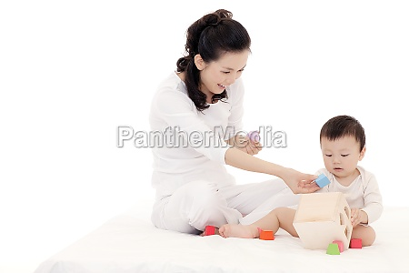 mother and child interaction