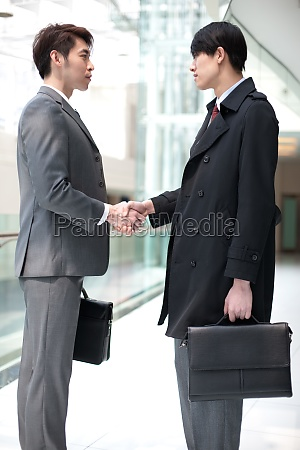business people to discuss work