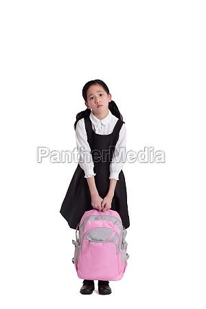 asians kid education face the camera