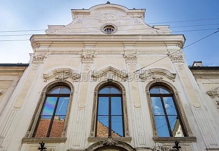 historic building zagreb croatia