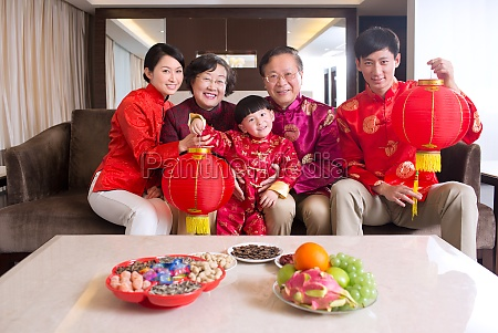 eastern family for the new year