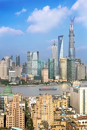 asia city life financial centre cityscape