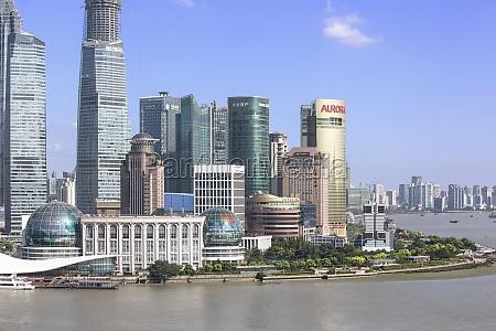 asia city architecture development pudong no
