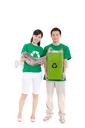 women protection environmentalists environment concept man