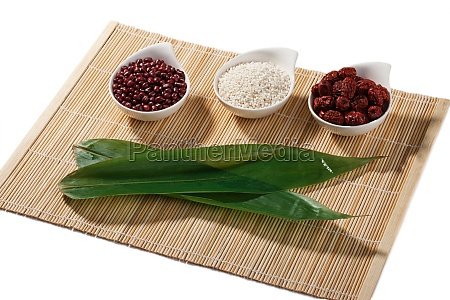traditional culture compound leaves get ready