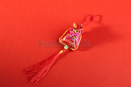scented sac traditional culture close up