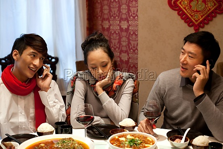 chinese food communication family three new