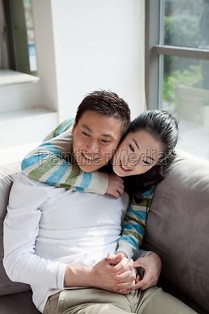 oriental figures asians wife husband daytime