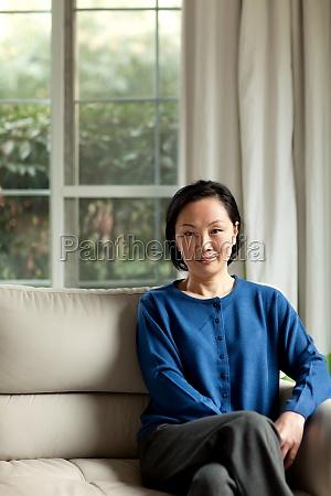 women leisure vertical composition smile face