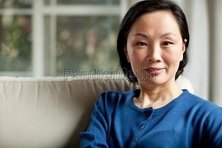 mother women face the camera transverse