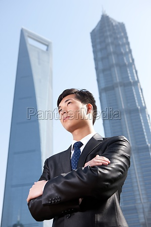 alone global financial centre young men