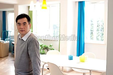 asian older men smile a man